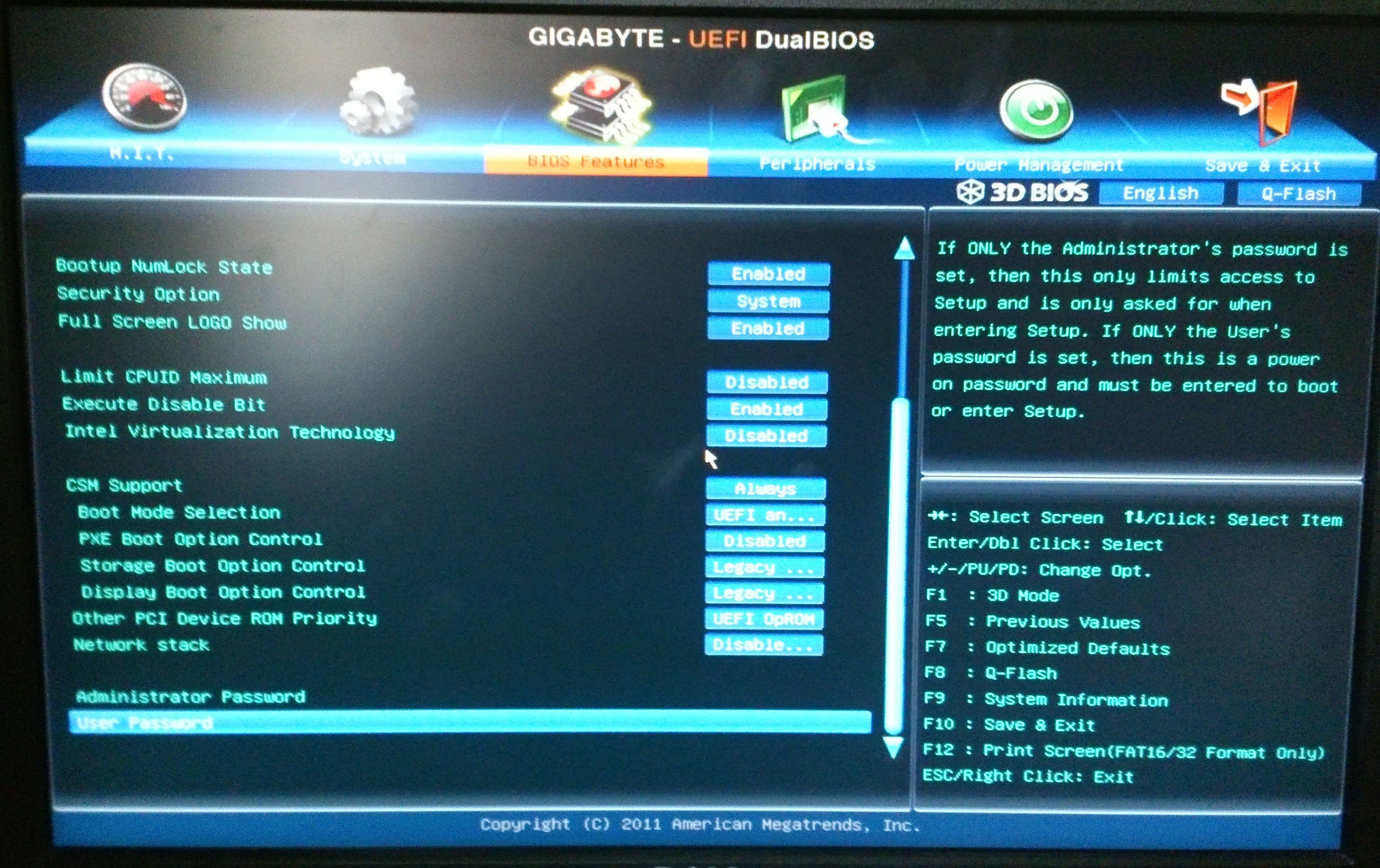 how to delete os from bios
